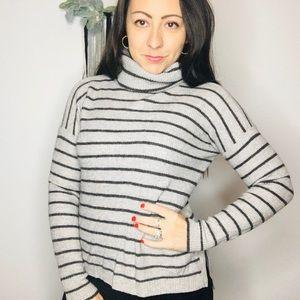 Madewell Cowl Neck Sweater Mohair Blend